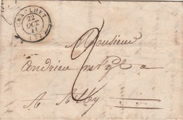 Lettre Cachet Graulhet Tarn 22/10/1841 Taxe Manuscrite Pour Albi - 1801-1848: Voorlopers XIX