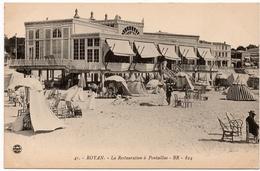 Royan : La Restauration à Pontaillac (Edt. BR N°824 - Imprimeries Réunies, Nancy, N°41) - Royan