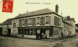 78...YVELINES....LE VESINET...LE MESNIL SAINT DENIS...LE CARREFOUR...HOTEL DES CHASSEURS - Le Mesnil Saint Denis