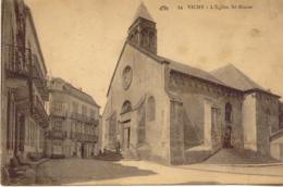 CPA - VICHY - EGLISE SAINT BLAISE - Vichy