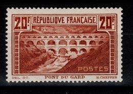 Pont Du Gard YV 262A - Type I - N* Cote 350 Euros - France