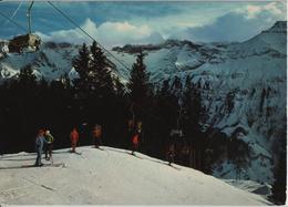 Elm - Sportbahnen Elm AG - Sessellift Im Winter - GL Glaris