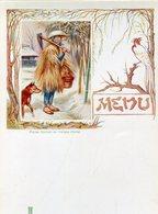 MENUS(SAINT GALMIER) SOURCE BADOIT(PAYSAN JAPONAIS) - Menus