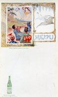 MENUS(SAINT GALMIER) SOURCE BADOIT(ENFANT JAPONAIS) CERF VOLANT - Menus