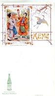 MENUS(SAINT GALMIER) SOURCE BADOIT(TYPE JAPONAIS) - Menus
