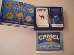 CAMEL- 2 PAQUETS CAMEL DANS LEUR COFFRET - Cigarettes - Accessoires