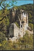 GERMANY - BURG ELTZ - VIAGGIATA DA FRANKFURT - FORMATO GRANDE 17X13 - Castles