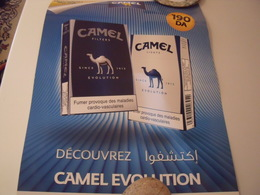 CAMEL- AFFICHE CAMEL STICKER - Objets Publicitaires
