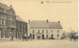 RANCE : Haut Du Village Et Rue De La Station - RARE CPA - Attelage - Sivry-Rance
