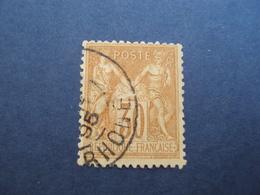 "1877-sage II, Timbre Oblitéré N°  80     ""30 C Brun Jaune  ""    Cote 2   Net        0.65 - 1876-1898 Sage (Type II)"