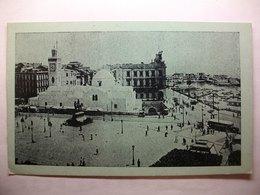 Carte Postale Algerie - Alger - Place Du Gouvernement (Petit Format Bleutée Circulée 1946  ) - Algiers