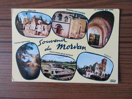Souvenir Du Morvan      Avallon   Quarre Les Tombes    La Pierre Qui Vire    Vezelay - Greetings From...