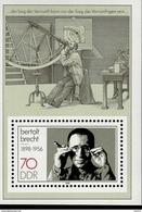DDR Block 091 Bertolt Brecht Postfrisch MNH *** - DDR