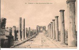 L74A867 - Timgad - Voie Decumanus -Côté Est - Collection Idéale N°25 - Algeria
