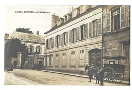 28 CHARTRES LA PREFECTURE 1915 CPA 2 SCANS - Chartres
