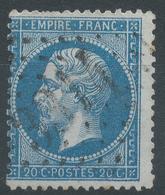 Lot N°45060  Variété/n°22, Oblit GC 3314 Saudrupt, Meuse (53), Ind 4, Sous Le Filet NORD, Filet SUD - 1862 Napoleon III