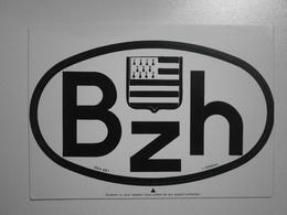 Bretagne, Lot De 2 Autocollants (GF420) - Bretagne