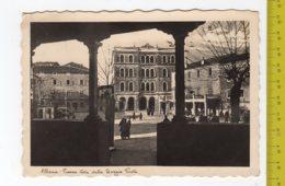 ALBONA Piazza Vista Dalla Loggia Veneta FG NV SEE 2 SCANS Aurosmalto Animata - Croazia