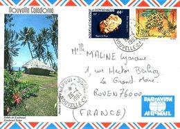 NOUVELLE-CALEDONIE. N°467 De 1983 Sur Enveloppe Ayant Circulé. Orchidée. - Orchids