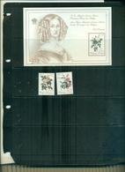 BELGIQUE PROMOTION DE LA PHILATELIE ROSES III 2 VAL + BF NEUFS A PARTIR DE 1 EURO - Roses