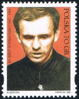 Poland 1999 Fi 3647 Mi 3795 XV Anniversary Of Death Of Priest Jerzy Popieluszko - 1944-.... República