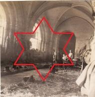 Photo Octobre 1916 Abbaye De VAUCELLES (Les-Rues-Des-Vignes, Près Cambrai) - Quartier Allemand (A181, Ww1, Wk 1) - Frankrijk