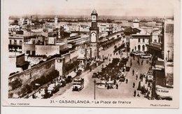 L74A874 - Maroc - Casablanca - La Place De France - Photo Flandrin N°31- Belle Animation - Casablanca