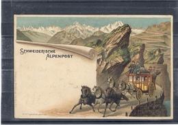 ALPENPOST - Précurseur - TBE - Suisse