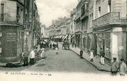 LA FLECHE  =  Grande Rue    92 - La Fleche
