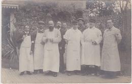 Carte Photo Forges Les Eaux Médecins Militaires Hopital Temporaire N°22 1914 - Forges Les Eaux