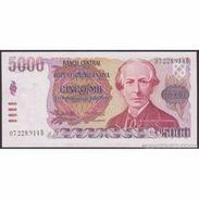 TWN - ARGENTINA 318a - 5000 5.000 Pesos Argentinos 1984-85 Serie B - Signatures: Lopez & Vazquez UNC - Argentina