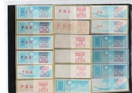 Timbres De Distributeurs - 1981-84 LS & LSA Prototypes