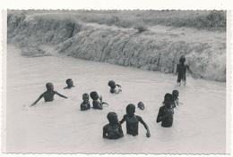 SENEGAL ? - Carte Photo - Enfants Se Baignant - Photo Lefèvre, Kaolack ? - Senegal