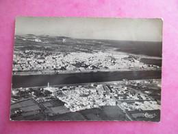CPA TUNISIE BIZERTE VUE AERIENNE - Tunisia