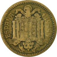 Monnaie, Espagne, Peseta, 1944, TB, Aluminum-Bronze, KM:767 - [ 4] 1939-1947 : Gouv. Nationaliste