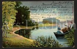 Postkaart / CPA / Postcard / 2 Scans / Couple / Serie Naturfrieden No 1 / 1904 - Couples