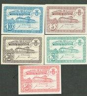 PORTUGAL-BANKNOTES-CÉDULA - EMERGENGY MONEY--H.S.JOSÉ-- 5-10-20-30-50 COMPLET SET - Portugal