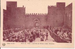 L74A879 -  Fez - Arrivée Du Sultan à Bab Dekaken   - Photo Flandrin N°186-11A - Fez