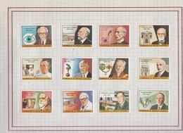 LOTE DE 21 VIÑETAS TEMA MEDICINA. - Stamps