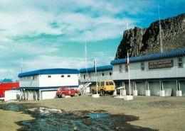 1 AK Antarctica * Die Station Julio Escudero Innerhalb Der Chilenischen Forschungsstation Frei Auf Der Insel King George - Ansichtskarten