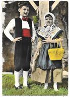 26 - LE DAUPHINE PITTORESQUE - Couple D'enfants Dauphinois - Ed. ALLAIN N° 4 - Folklore EMPI Et RIAUME Romans - Romans Sur Isere