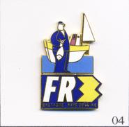 Pin's - Médias - Télévision / FR3 Bretagne Pays De Loire. Estampillé Neway Int'L. EGF. T494-04 - Medias