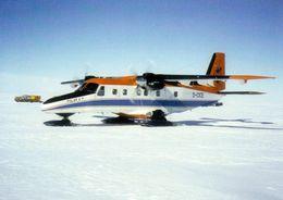 "1 AK Antarctica Antarktis * Polar Aircraft ""Polar 4"", Dornier 228 With Ski Landing Gear * - Ansichtskarten"