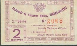 PORTUGAL-BANKNOTES-CÉDULA - EMERGENGY MONEY--ASSOCIAÇÃO DE SOCORROS MUTUOS VENDAS-NOVENSE - Portugal