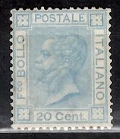 Italie YT N° 23A Neuf *. Gomme D'origine. Certificat Raybaudi. B/TB. A Saisir! - 1861-78 Vittorio Emanuele II