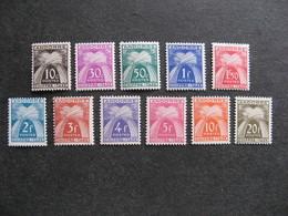 Série De Timbres Taxe D'Andorre N°21 Au N°31, Neufs XX. - Unused Stamps