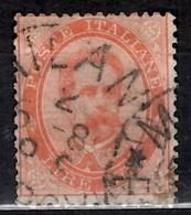 Italie YT N° 39 Oblitéré. B/TB. A Saisir! - 1878-00 Humbert I