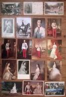 Lot De 33 Cartes Postales  Famille Royale AUTRICHE / Empereur Kaiser Franz Joseph / Osterreich / Austria - Hommes Politiques & Militaires