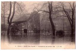3322 - Paris 5e - Le Jardin Des Plantes - Inondations De Janvier 1910 - J.P.M. N°4 - - Arrondissement: 05