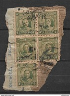 CHINA USED STAMPS ON PAPER - Other